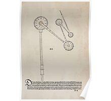 Measurement With Compass Line Leveling Albrecht Dürer or Durer 1525 0045 Agle Curve Tool Poster
