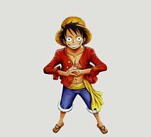 one piece straw hat monkey d luffy anime manga shirt T-Shirt