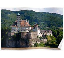 Wachau valley Castle Poster