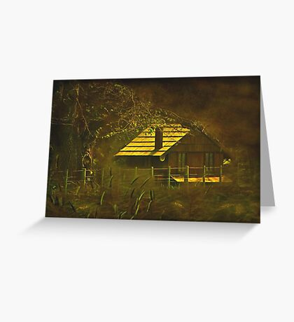 """""""The Hen House... """" Greeting Card"""