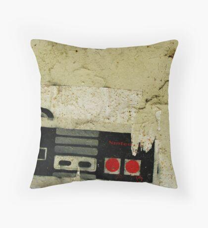Industrial NES Throw Pillow