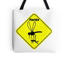 Florida state bird the mosquito geek funny nerd Tote Bag