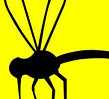 Florida state bird the mosquito geek funny nerd Sticker