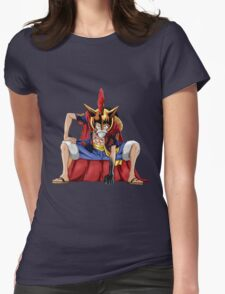 one piece lucy monkey d luffy anime manga shirt Womens Fitted T-Shirt