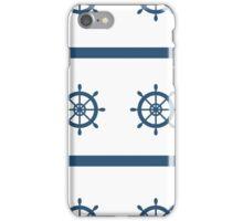 Sailor Nautical Marine Pattern iPhone Case/Skin