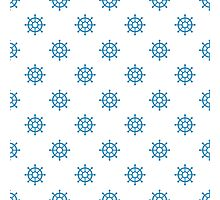 Nautical Marine Pattern Photographic Print