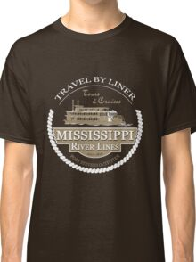 Mississippi River Line Classic T-Shirt