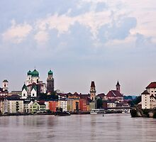 looking to Passau by doug hunwick