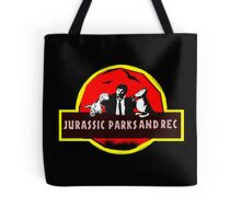 jurassic parks and rec Tote Bag