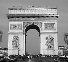 Arc De Triomphe III by Al Bourassa