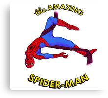 Amazing Spider-Man Canvas Print