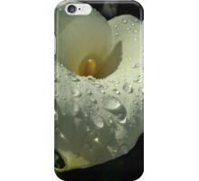 wet lily iPhone Case/Skin