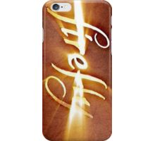 Firefly: Episode Opening Logo iPhone Case/Skin