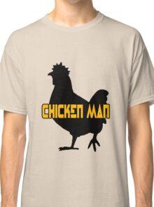 Chicken man geek funny nerd Classic T-Shirt