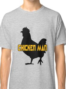 Chicken man geek funny nerd Classic T-Shirt