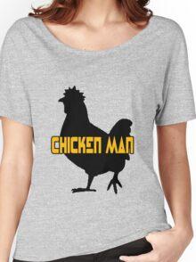 Chicken man geek funny nerd Women's Relaxed Fit T-Shirt