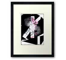 To decode his expression Framed Print