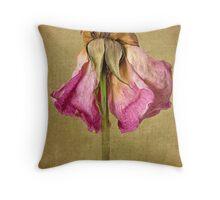 Vintage Petal Petticoat Throw Pillow