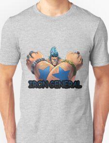 one piece iron general franky straw hat anime manga shirt T-Shirt