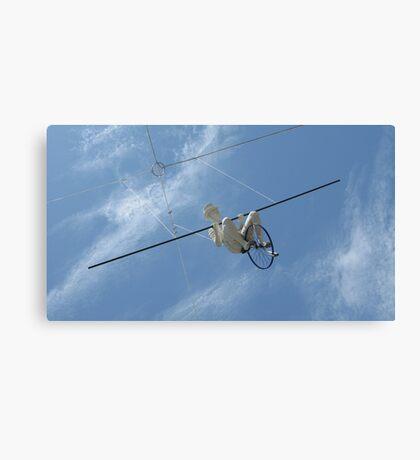 Aerial Man Sculpture Southbank Brisbane Australia Canvas Print