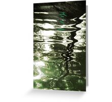 eau pittoresque Greeting Card