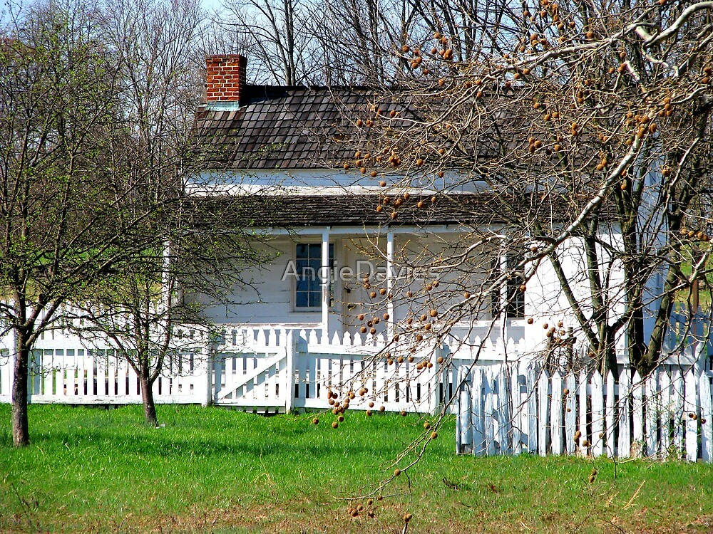 Lydia Leister Home, Gettysburg Battlefield by AngieDavies