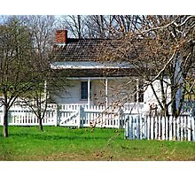 Lydia Leister Home, Gettysburg Battlefield Photographic Print