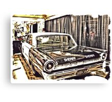 """""""An Extremely Popular Squad Car""""... prints and products Canvas Print"""