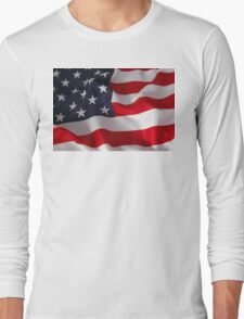 American Phone Long Sleeve T-Shirt