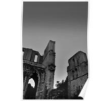 Roche Abbey Ruin, English Heritage Site Poster