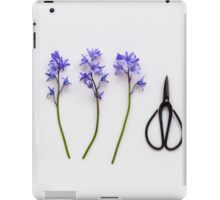 Bluebells  iPad Case/Skin