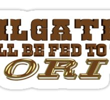 Tailgaters will be Fed to the Ori! Sticker