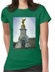 Victoria Memorial, London England Womens Fitted T-Shirt