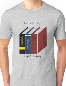 Light Reading Unisex T-Shirt