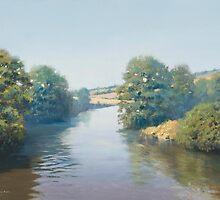 River Taw, Devon, England by Richard Picton