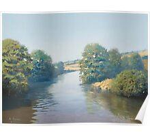 River Taw, Devon, England Poster
