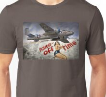 Take Off Time Unisex T-Shirt