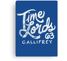 Time Lords 63 Canvas Print