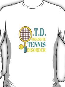 Funny tennis geek funny nerd T-Shirt