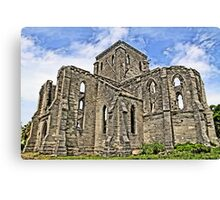 Unfinished Church Canvas Print