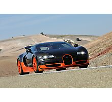 The World's Fastest Car .... Photographic Print