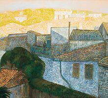 Roofs of Carcassonne by vetrolov