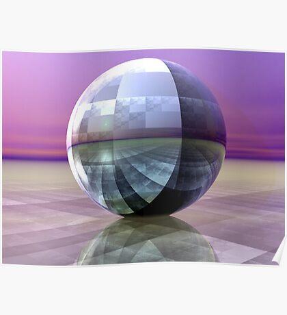 Sierpinski's Sphere Poster