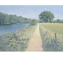 River Thames between Scours Lane and Caversham Photographic Print