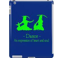 Green and black long sleeve belly dance bellydance geek funny nerd iPad Case/Skin