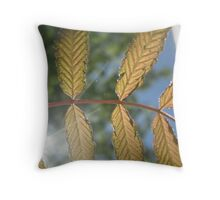 Under thy leaves Throw Pillow