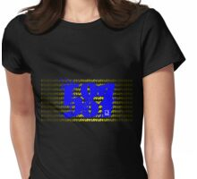 587 LUV Womens Fitted T-Shirt