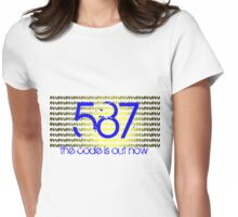 587 LUV 2 Womens Fitted T-Shirt