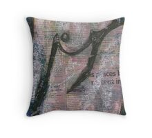 Nude, Bernard Lacoque-7 Throw Pillow