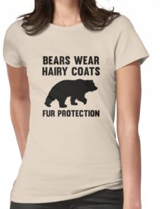 Fur Protection Womens Fitted T-Shirt